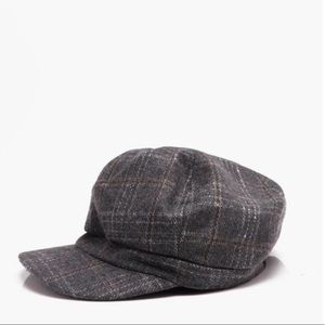 Other - NEW Plaid Paperboy Checker  Top Hat Cap Cabbie